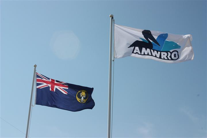 South Australian & AMWRRO Flags