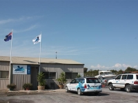 AMWRRO Office and vehicles 